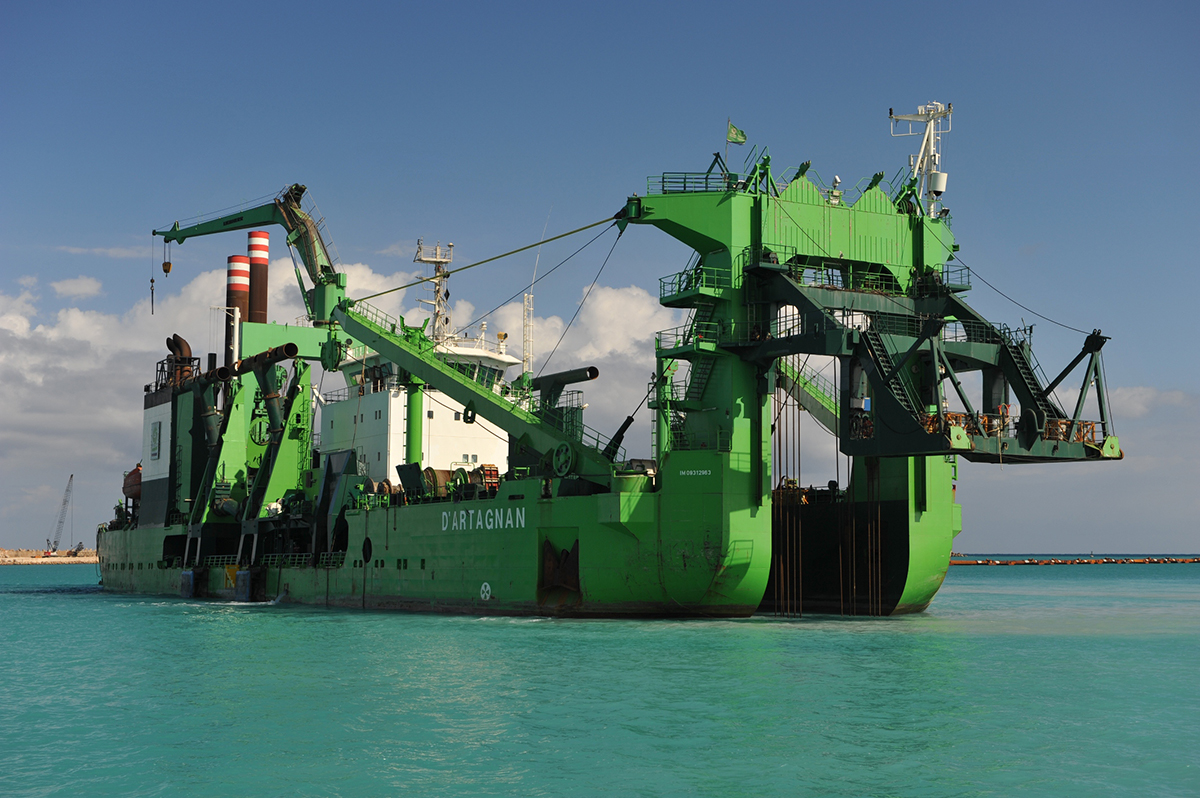 D'Artagnan – Innovative cutter dredger